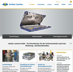 Webdesign Anchor Lamina…