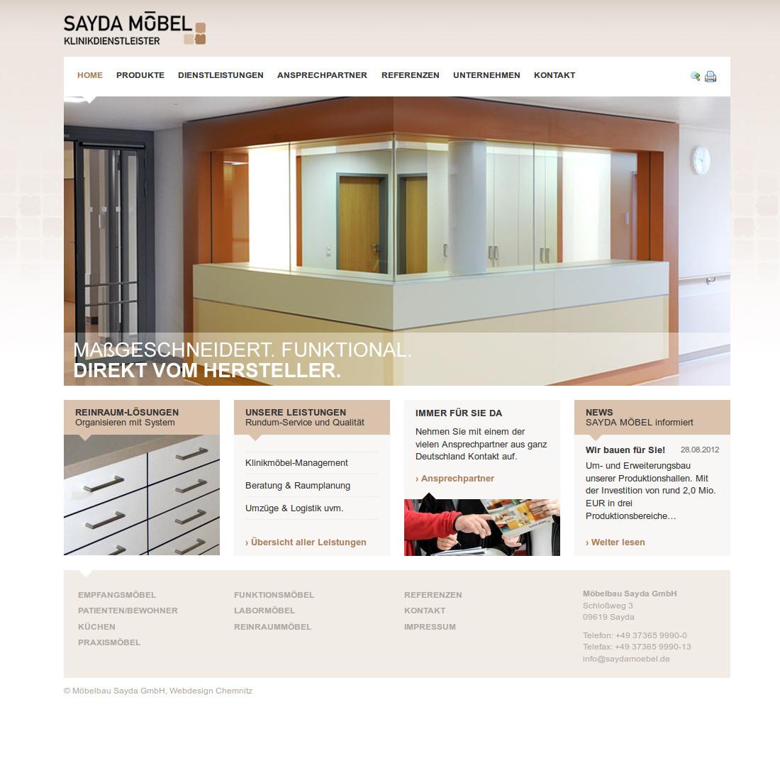 Business-Webdesign für Firmen, Unternehmen und Industrie
