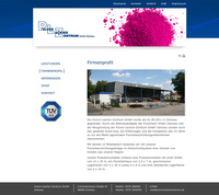 Business Webdesign Pulver-Lackier-Zentrum