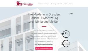 Webdesign PS Immobilien…