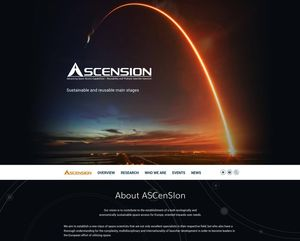 Webdesign Projekt ASCenSIon TU Dresden…