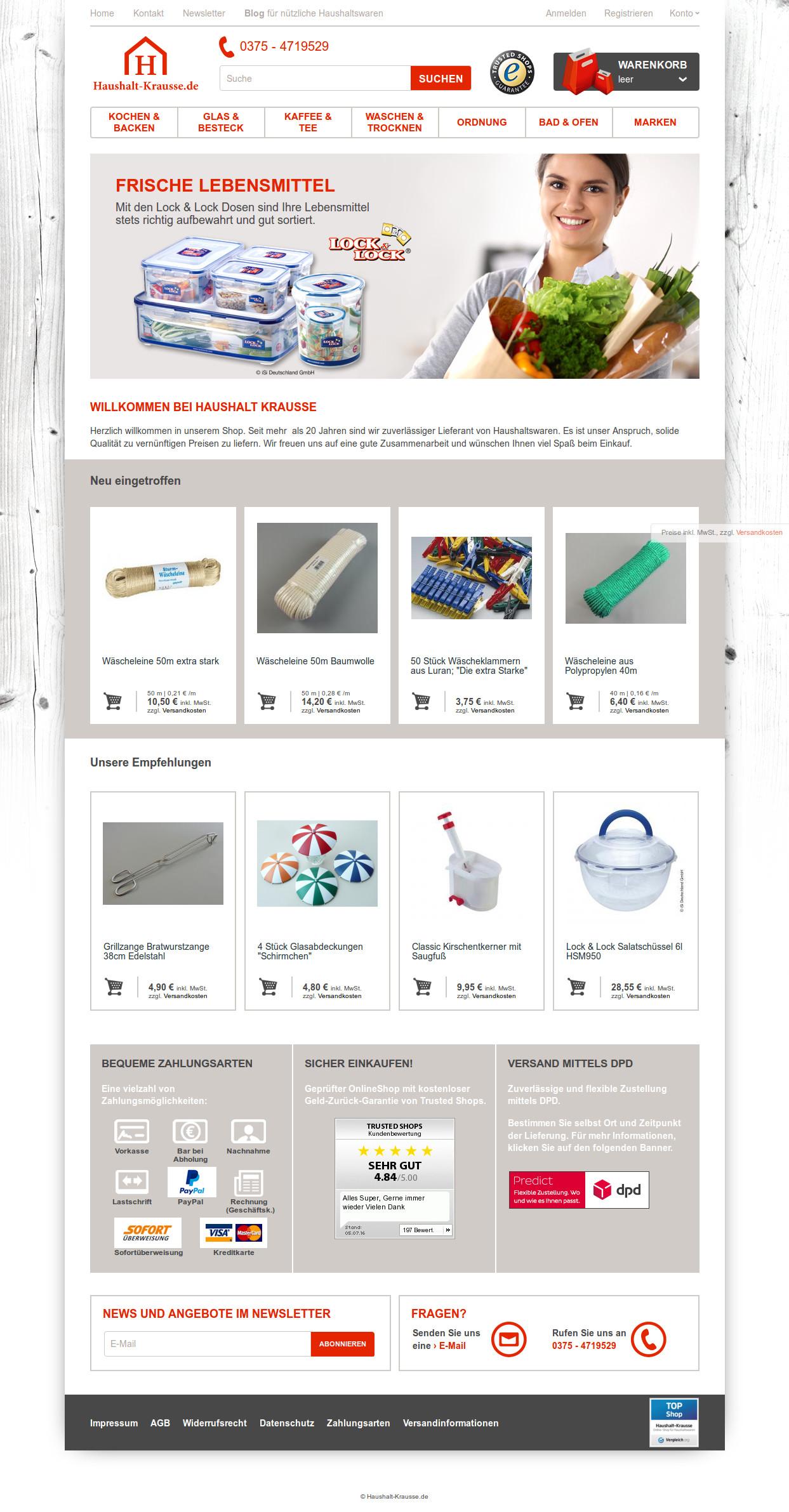 haushalts online shop haushalt myduano online shop kuche und haushalt online shop appetitlich. Black Bedroom Furniture Sets. Home Design Ideas