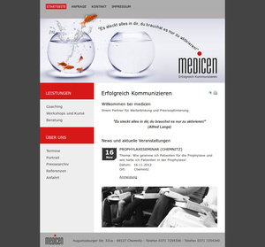 Website Coach Alfred Lange medicen…